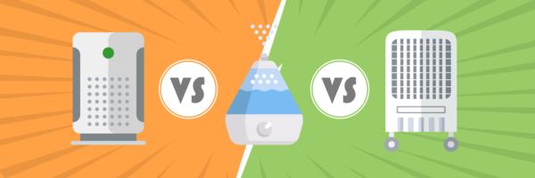 Air Purifier VS Humidifier VS Dehumidifier