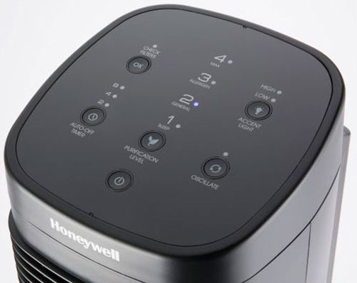 Honeywell AirGenius 4 HFD310 control