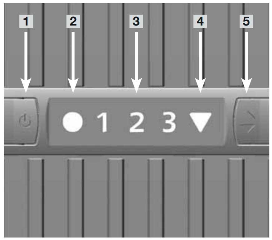 Venta LW25 Airwasher 2-in-1 Control Panel