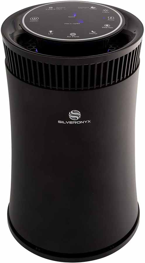 silveronyx true hepa air purifier
