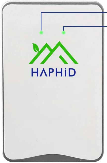 HAPHID Negative Ion Generator Plug In Air Purifier