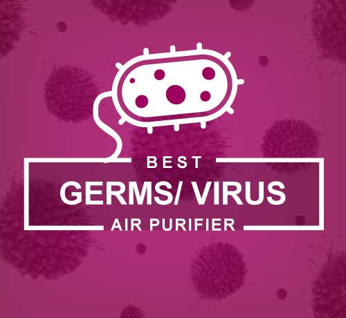 Best Air Purifier for Germs, Bacteria and Viruses with Antimicrobial